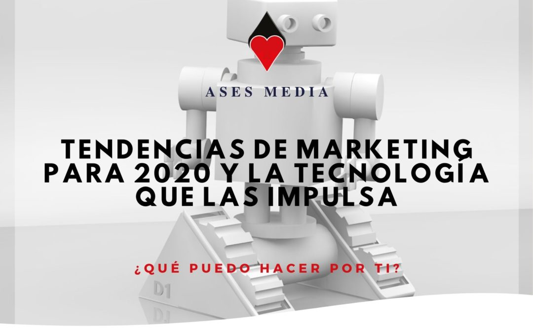 Tendencias de marketing para 2020 y la tecnología que las impulsa